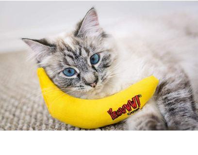 HUGE SALE! Yeowww! Catnip Toy, Yellow Banana