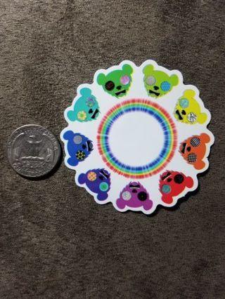 Circle Of Bears Sticker