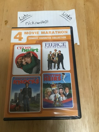4in1 Classic Comedy Favorites - DVD Movie Pack