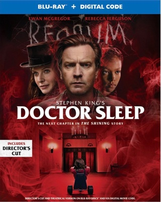 Stephen King's  Doctor Sleep digital movie code from Blu Ray