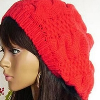 NWOT Twisted Beret Knitted Hat