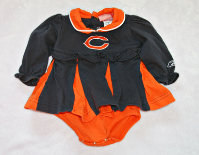 buy online 39769 5de1a Free: girls 3/6m CHICAGO BEARS cheerleader outfit! - Baby ...