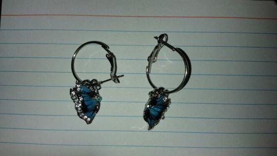 ☆ Butterfly Earrings ☆