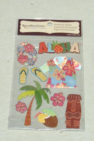Recollections Summer Beach - 1 Sheet - Scrapbooking Paper Crafts Supplies