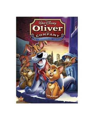 ❤ [NEW] Disney's Oliver and Company Movie Animation DVD