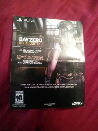call of duty advanced warfare ps4 digital download