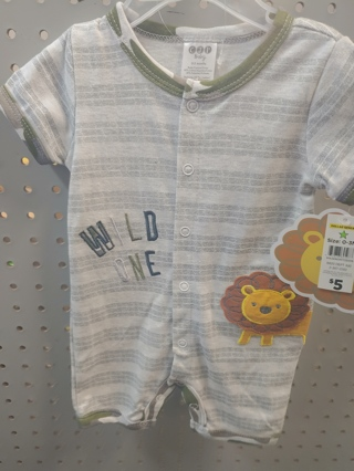 New! Baby Boys Romper-Size 0-3mth