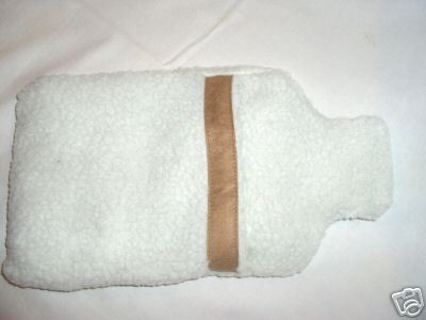 Shearling Comfort Bottle Shaped Warmer Brand New