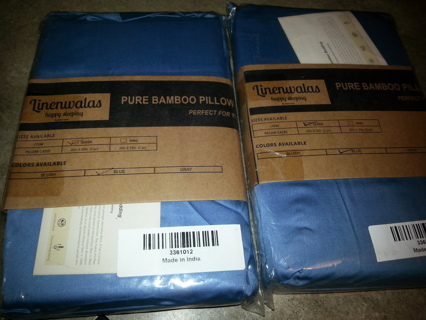 New Bamboo pillowcases