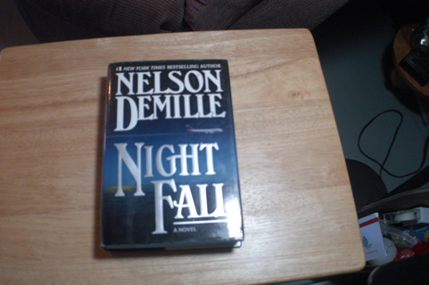 Nelson DeMille Night Fall Hardcover