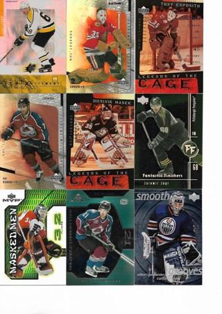 (9) Hockey Insert Cards