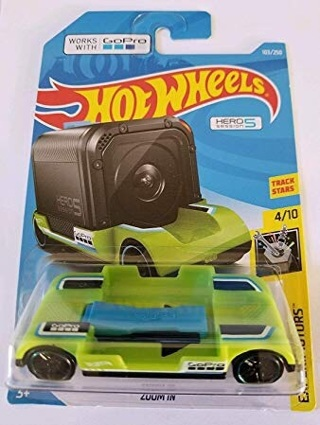Hot wheels GoPro hub