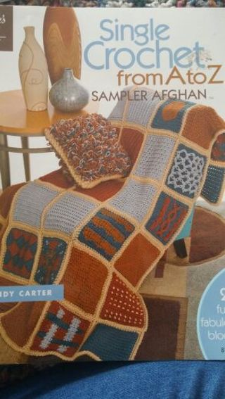 Easy single crochet Afghan book