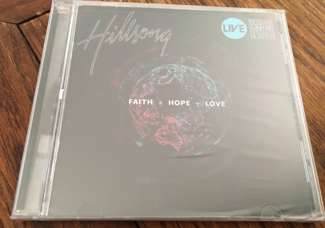 NEW - Hillsong CD - Faith + Hope + Love