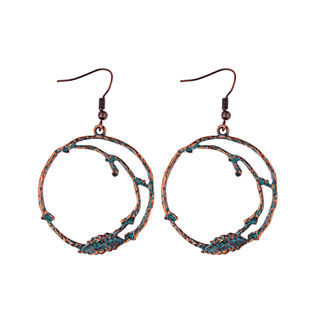 Vintage Bohemian Boho Style Metal Drop Tassels Women Earrings Charm Jewelry Gift