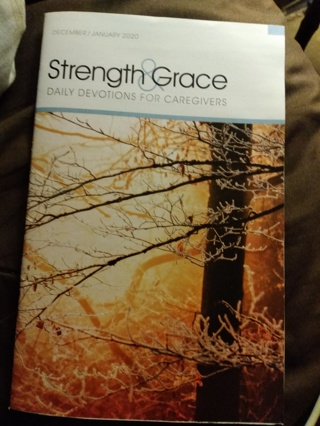 Strength and Grace-December/January 2020 with Bookmark
