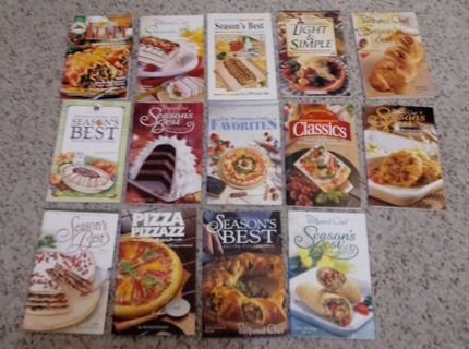 Lot of 14 cookbooks