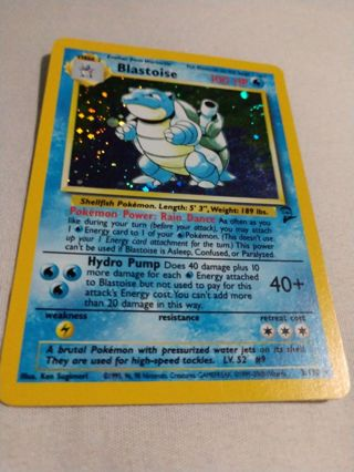 Pokemon TCG - Base Set 2 - Holo Bastoise 2/130