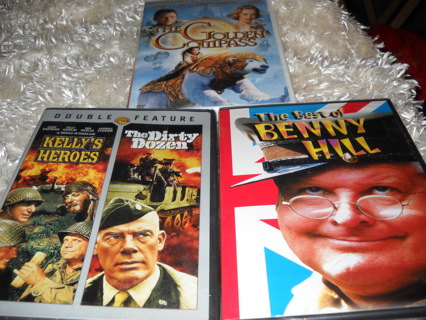Lot of 3 movies