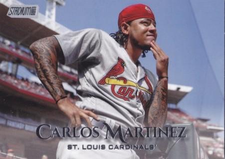 Carlos Martinez 2019 Topps Stadium Club St. Louis Cardinals