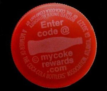 One Coke cap