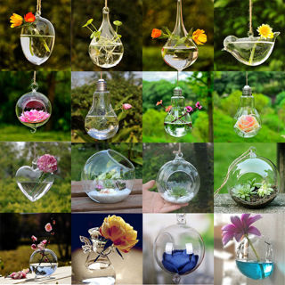 Angel Glass Vase Bottle Terrarium Container Home Table Decor