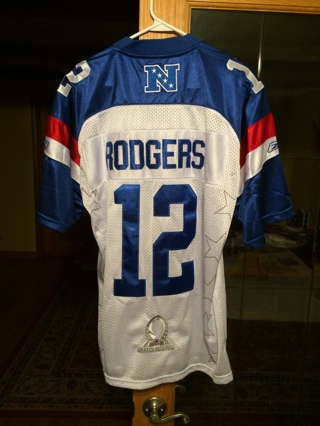 Aaron Rodgers Pro Bowl Jersey Size 48 Stitched NEW WITH TAGS!   FREE  SHIPPING! c6e5ee17a