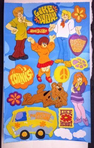 Sandylion Scooby Doo Sticker Sheet