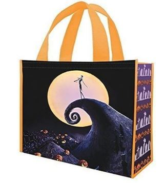 NEW The Nightmare Before Christmas Large Reusable Shopping Bag Shopper Tote Shop Smart FREE SHIPPING