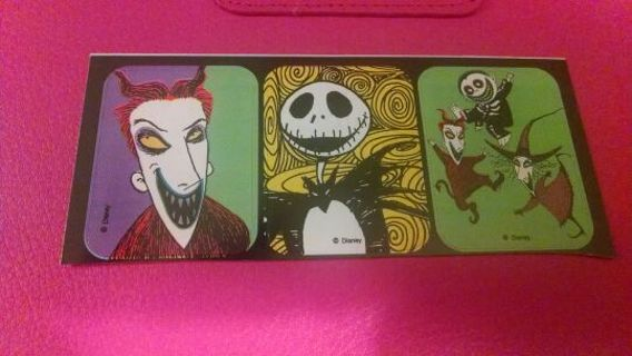 The Nightmare before Christmas stickers 3