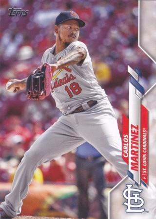 Carlos Martinez 2020 Topps St. Louis Cardinals