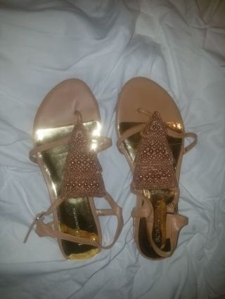 Cute sandals never worn!!!