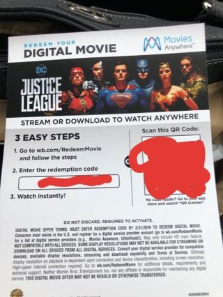 Digital HD copy of Justice League JLA