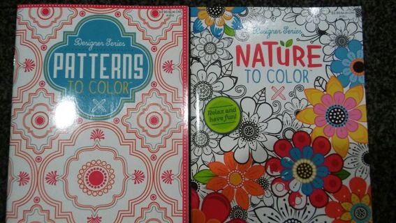 Adult coloring book free shipping