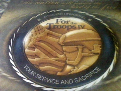 FOR THE TROOPS IV, CD