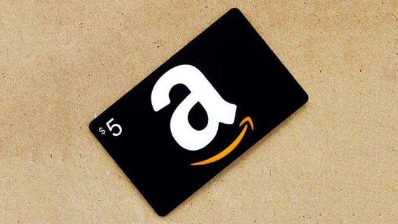 $5 amazon giftcard