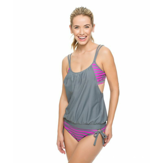 2020 Tankini Swimsuit Bathing Suits Plus Size Two Piece Bikini Set x1
