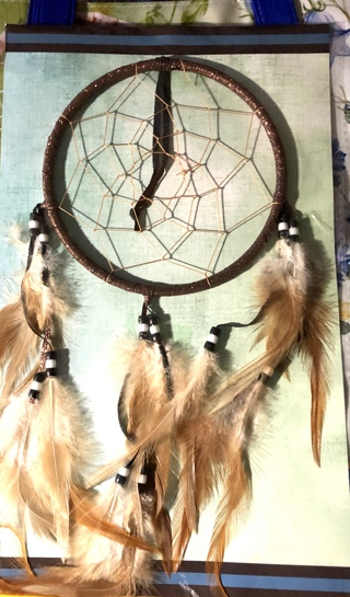"BNIP Beautiful 13"" x 9"" Dreamcatchers Of HOPE."