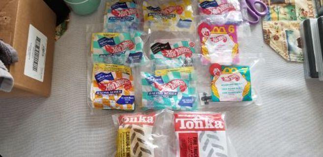Hot wheels and tonka toys