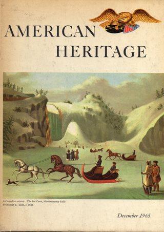 Vintage American Heritage Hard Covered Book: December 1965