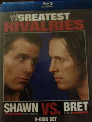 WW Greatest Rivalries blue-ray