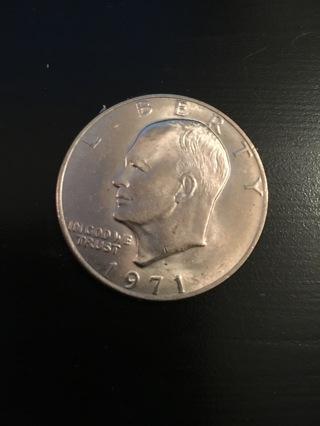 1971 - D Eisenhower IKE US Dollar *WOW* Free Shipping