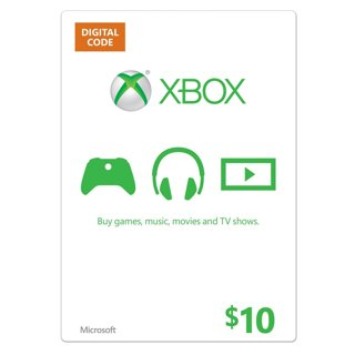 Microsoft Xbox Gift Card Code $10 *with low GIN*