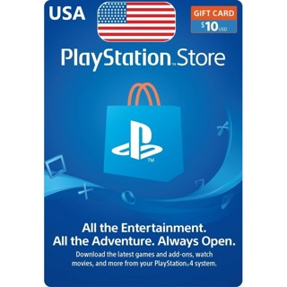 PlayStation Network 10$ Code PSN UNITED STATES