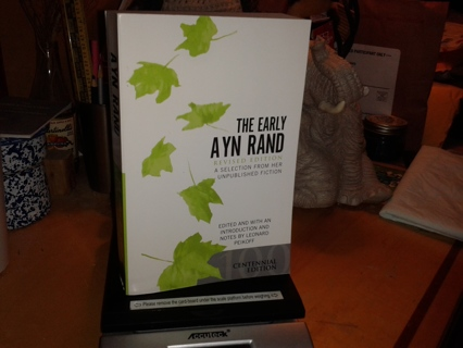 The Early Ayn Rand - large softcover