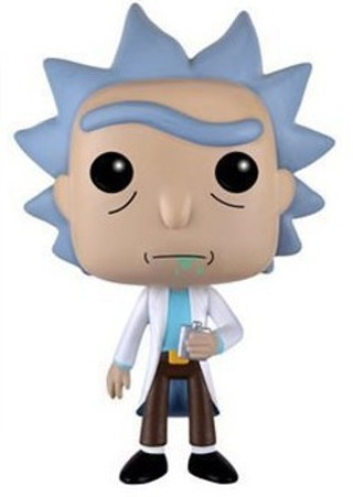 New Hot 10Cm Rick And Morty- Action Figure Toys Collector Christmas Gift Doll
