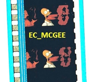 free the simpsons movie 35mm movie film strips cell other trading