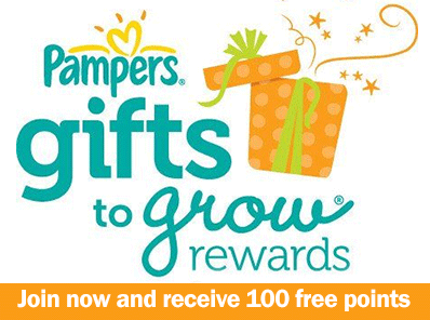 *Pampers Gifts to Grow Rewards*