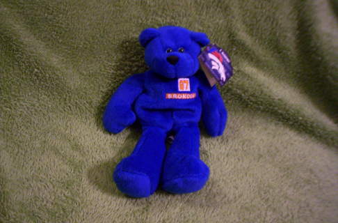 Free Denver Broncos Ed Mccaffrey 87 Pro Bears Nwt Dolls