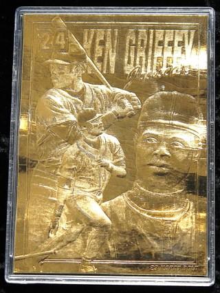 Free Ken Griffey Jr Photo Ball And 23k Foil Baseball Card Sports